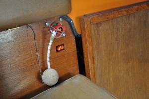 Ny strömbrytare och voltmätare