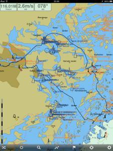 Karta Skärgårdstur 2013